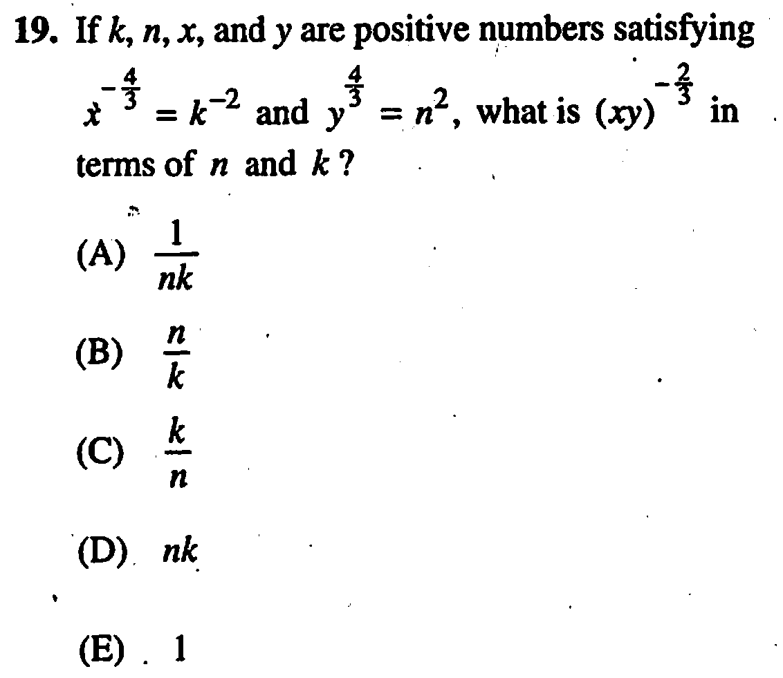Everything you need to know about exponents for the SAT math section