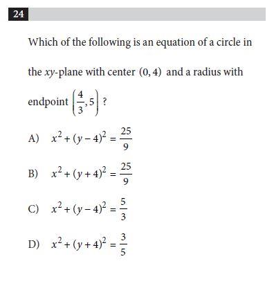 SAT Practice Test 1, Section 4, Question 24