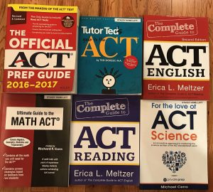 The best ACT books