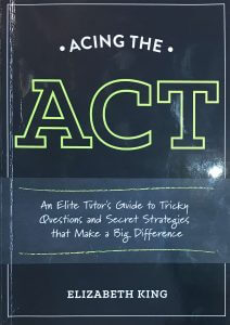 Acing the ACT book cover