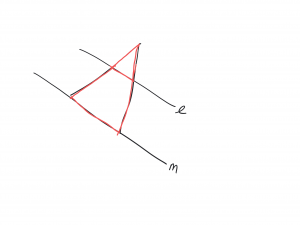 see the triangle