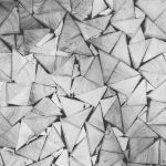 triangles in a pattern